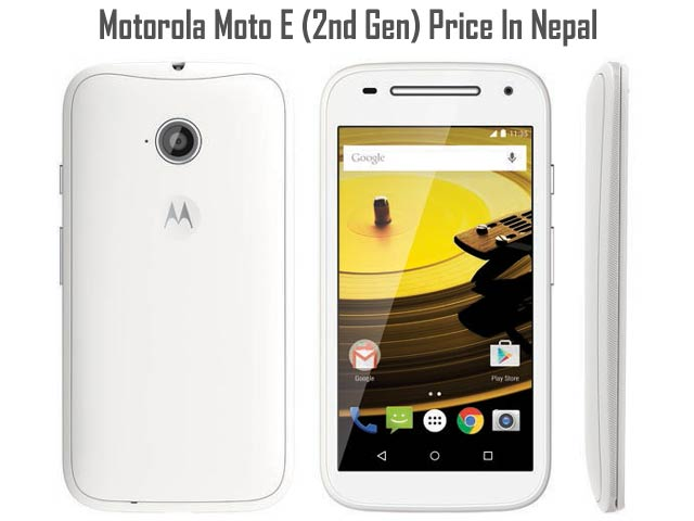 Motorola Moto E 2nd Gen price in Nepal