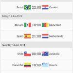 fotmob- world cup 2014