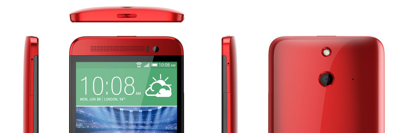 HTC Announced HTC One E8, A Plastic Version Of M8 With 13 MP Camera