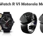 LG G Watch R vs Motorola Moto 360