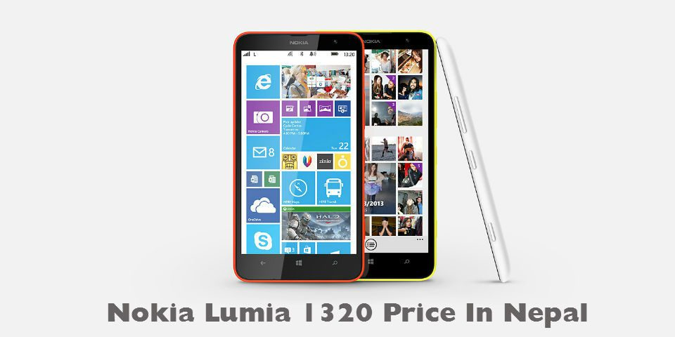 Nokia Lumia 1320 price in Nepal