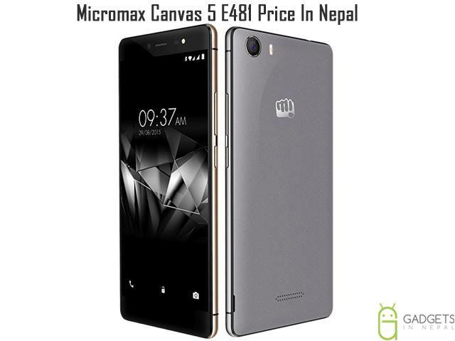 Micromax Canvas 5 E481 Price In Nepal