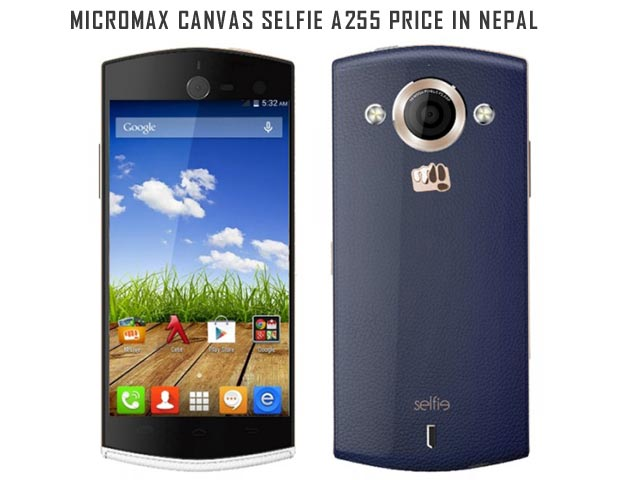 Micromax Canvas Selfie A255 price in Nepal