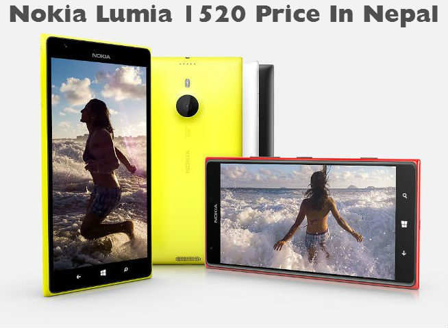 Nokia Lumia 1520 price in Nepal