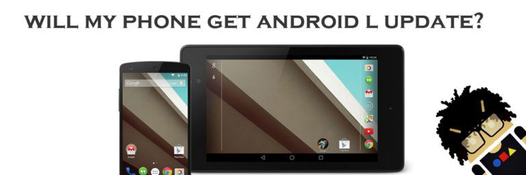 Android L update