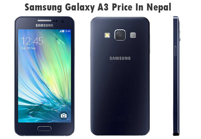 Samsung Galaxy A3 price in Nepal