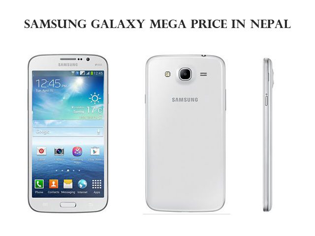Samsung Galaxy Mega price in Nepal
