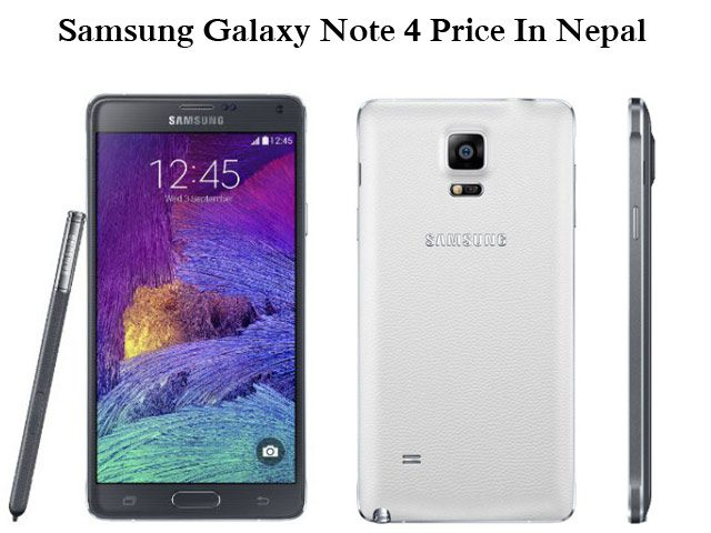 Samsung Galaxy Note 4 Price in Nepal