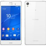 Xperia z3 front and back