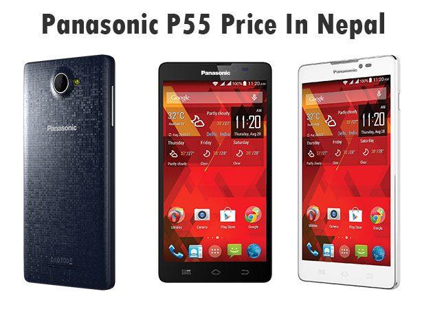 Panasonic P55 price in Nepal