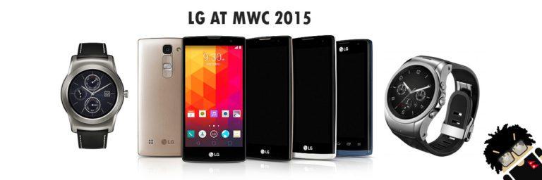 LG at MWC 2015