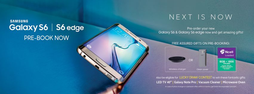 Samsung Galaxy S6 And Galaxy S6 Edge Price In Nepal
