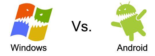 Android vs windows phone