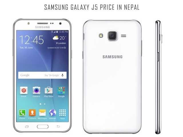 Samsung Galaxy J5 Price In Nepal