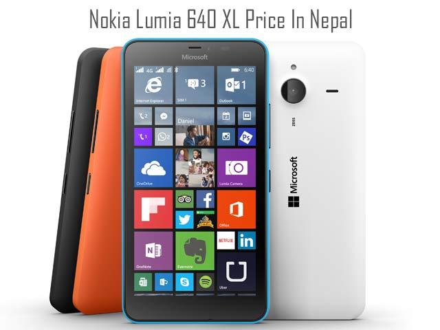 Microsoft Lumia 640 XL price in Nepal