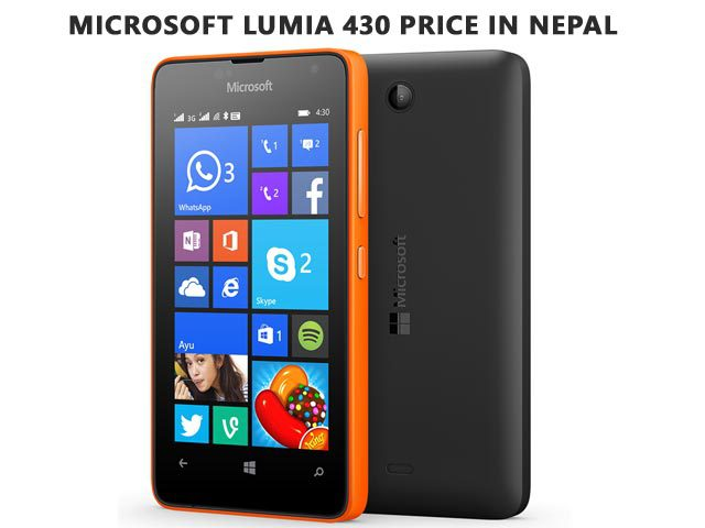 Microsoft Lumia 430 price in Nepal