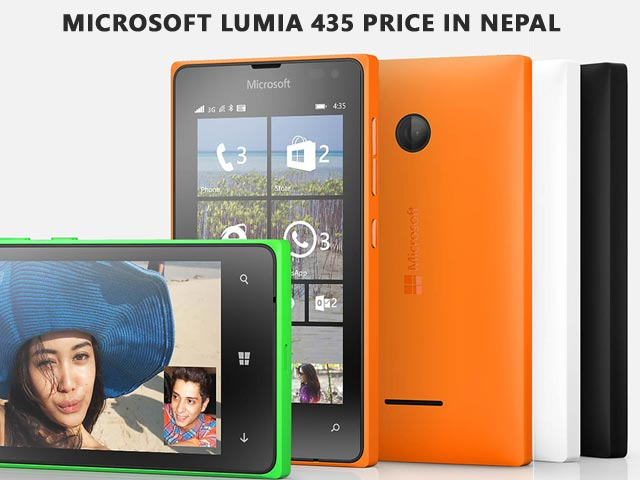 Microsoft Lumia 435 price in Nepal