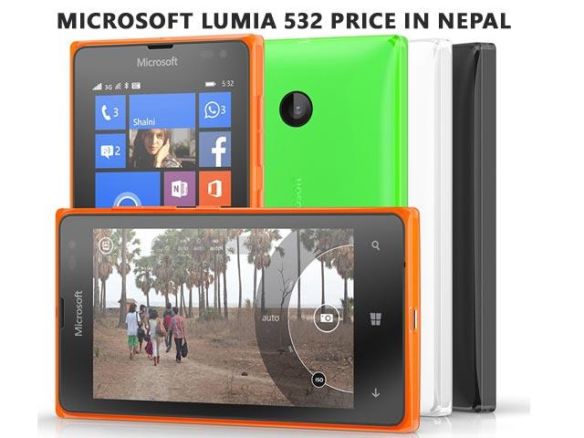 Microsoft Lumia 532 price in Nepal