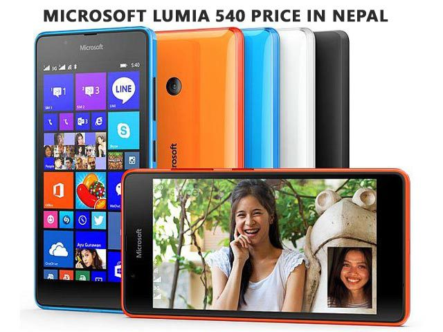 Microsoft Lumia 540 price in Nepal