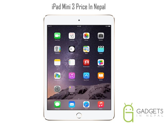 iPad mini 3 Price In Nepal