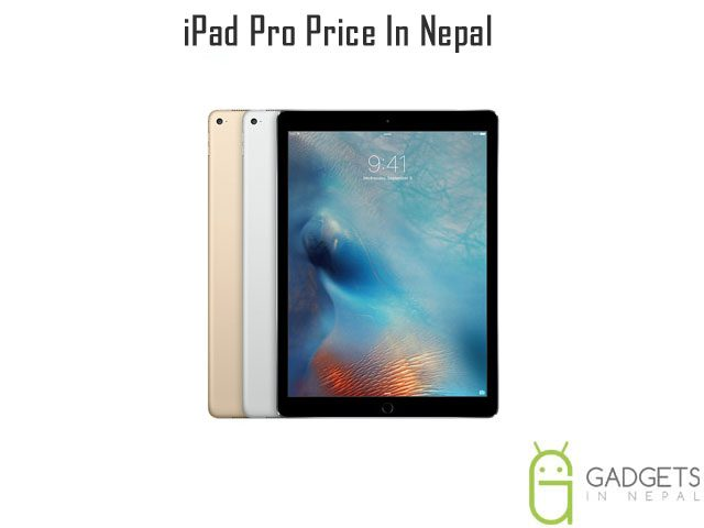 iPad Pro Price In Nepal