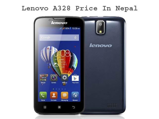 Lenovo A328 Price In Nepal