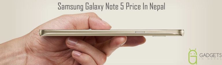 Samsung Galaxy Note 5 price in Nepal