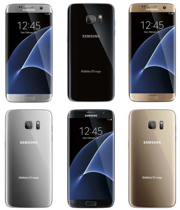 Samsung Galaxy S7edge leaked render photos