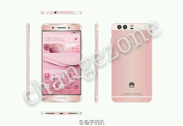 Huawei P9 Pink