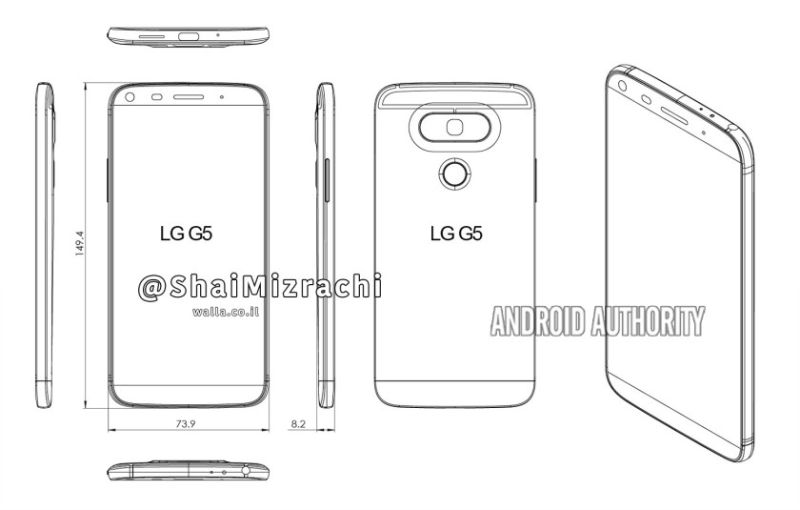 LG G5 render graph