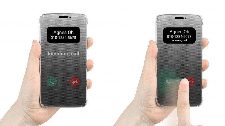 LG tease Smart cover for LG G5