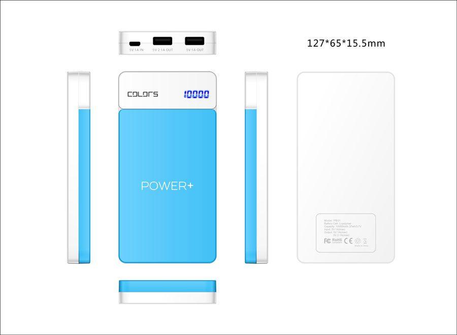 Colors Power Plus powerbank