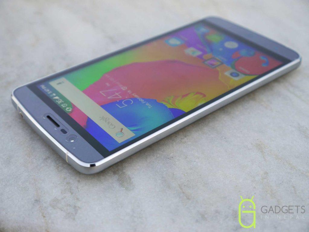 Elephone P8000 Design And Build Quality