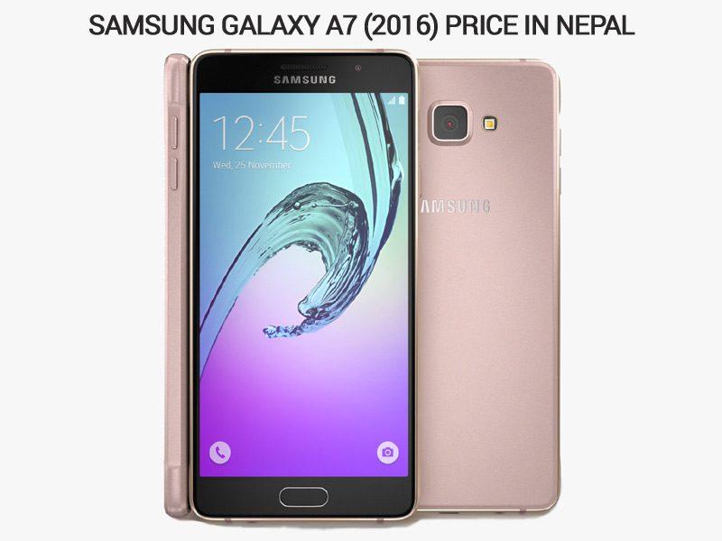 Samsung Galaxy A7 (2016) price in Nepal
