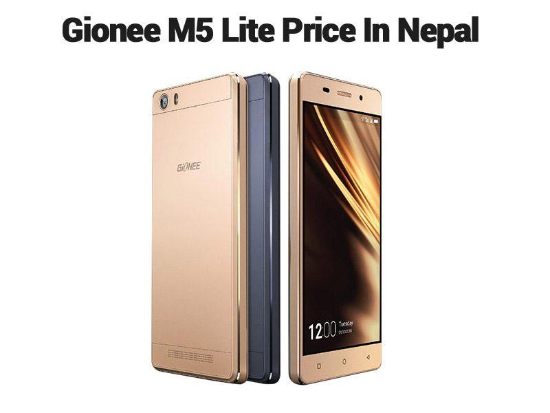 Gionee M5 Lite Price In Nepal