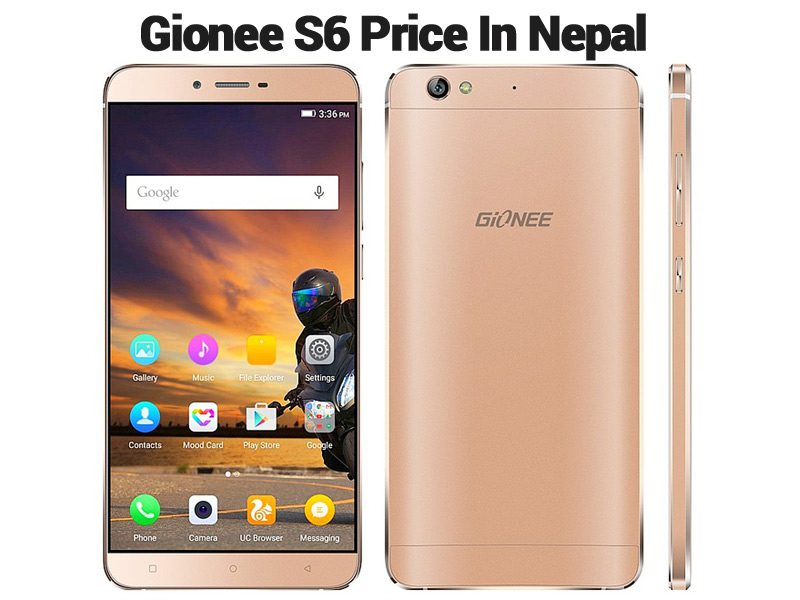 Gionee S6 Price In Nepal