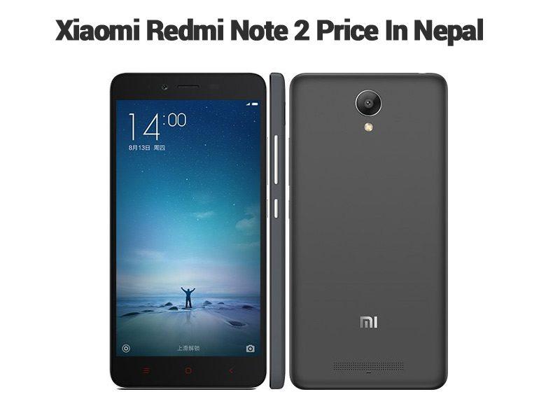 Xiaomi Redmi Note 2 price in Nepal