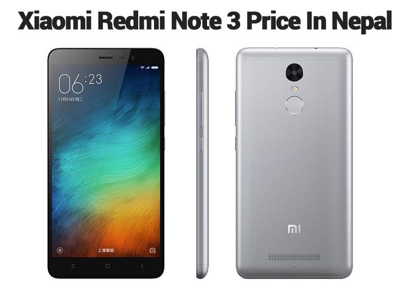 Redmi Note 3 Price In Nepal