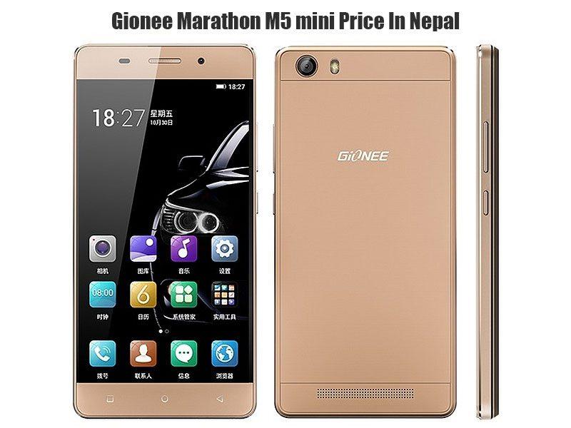 Gionee Marathon M5 mini price in Nepal