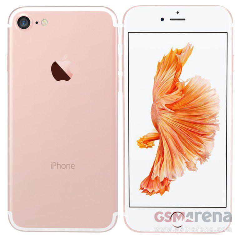 iPhone render image from GSMArena