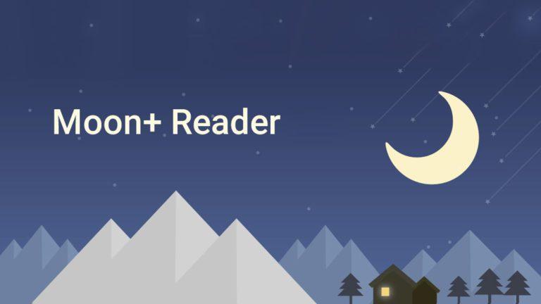 Moon+ Reader app