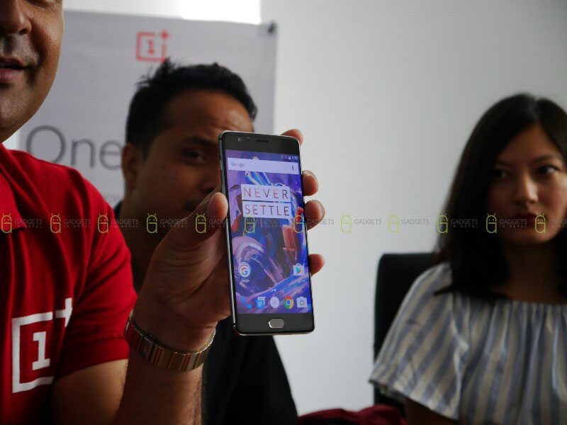 Oneplus 3 coming soon in Nepal