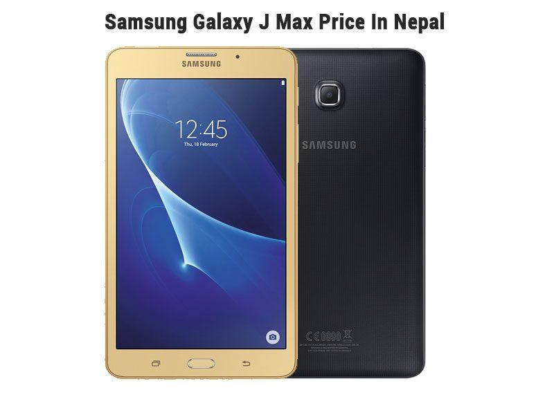 Samsung Galaxy J Max Price In Nepal