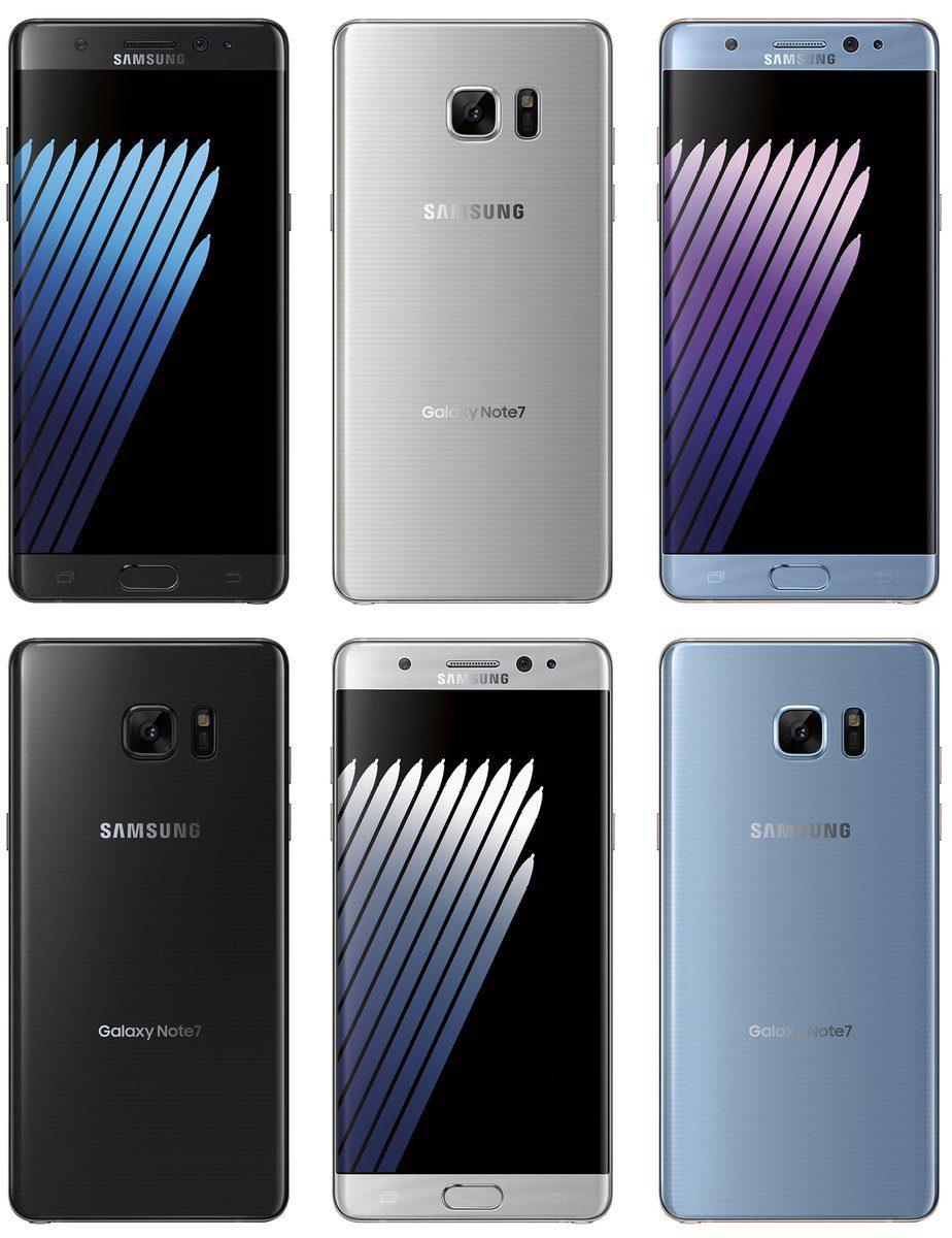 Samsung Galaxy Note 7 leaked render photo by @evleaks