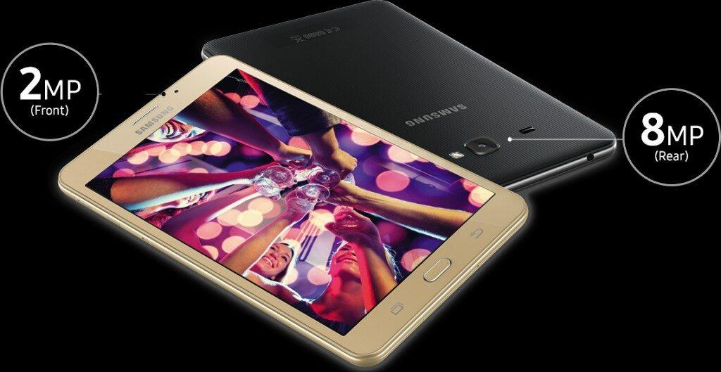 Samsung Galaxy J Max with 8MP rear camera and 2MP front facing camera