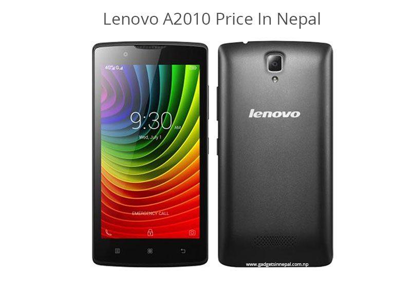 Lenovo A2010 Price In Nepal