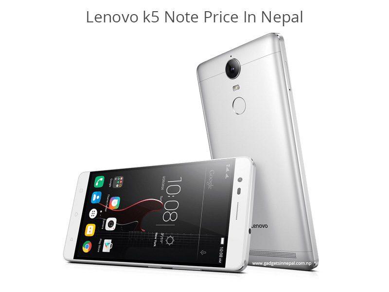 Lenovo K5 Note price in Nepal