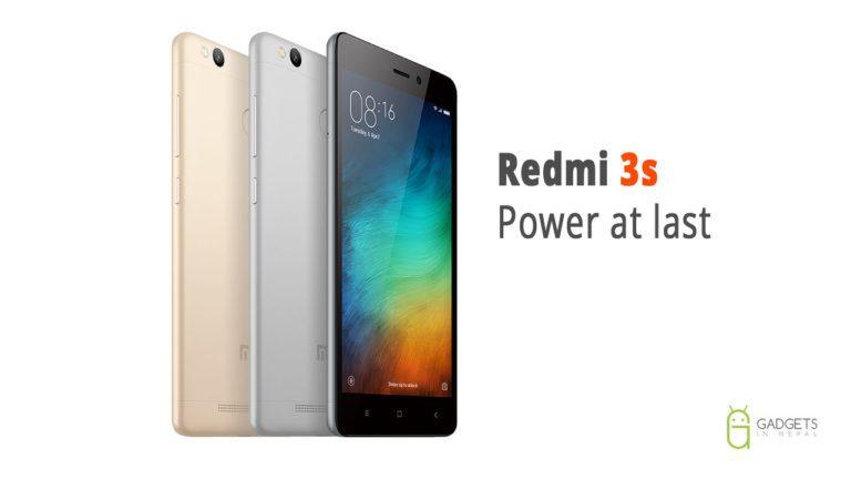 Redmi 3s price in Nepal