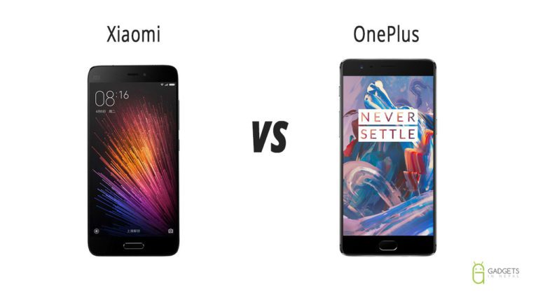 Xiaomi vs OnePlus price difference in Nepal