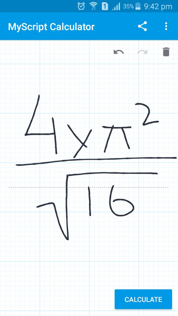 My Script Calculator